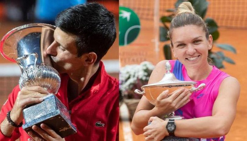 Novak Djokovic Given 10 Euros More Than Simona Halep For Winning Rome Masters 2020 Title Republic World