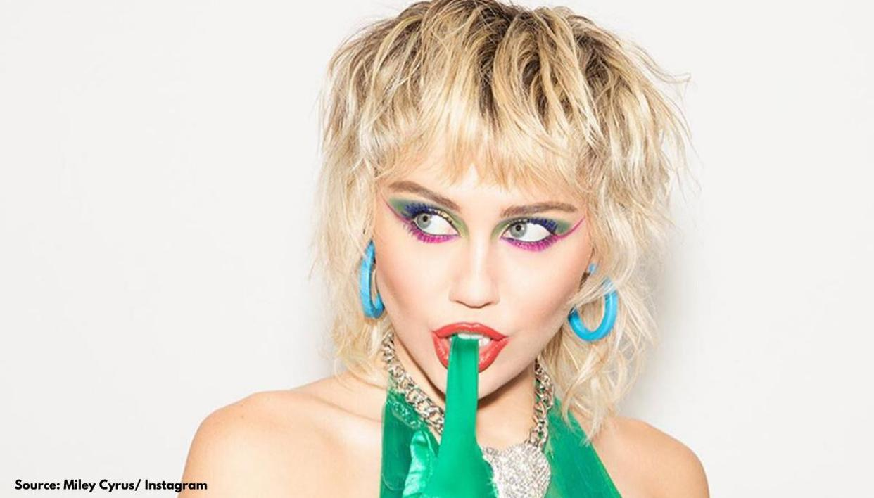 Miley Cyrus 5 Bold And Easy Makeup