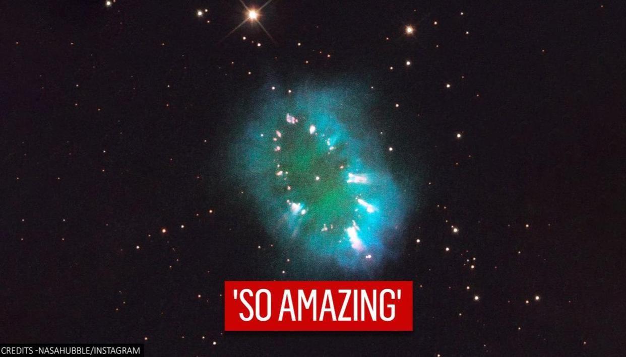NASA posts an 'amazing' image of Necklace Nebula, netizens stunned