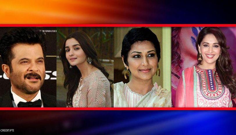 Anil Kapoor, Alia Bhatt, Sonali Bendre are all praise for Madhuri Dixit's debut song