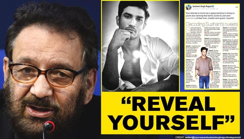 Shekhar Kapur fumes at 2017 article mocking Sushant Singh Rajput, dares, 'prove me insane'