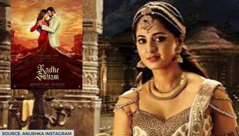 Prabhas Radhe Shyam First Look Out Anushka Praises Her Baahubali Co Star Republic World