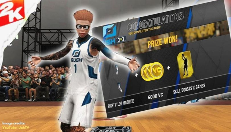 Rush 1v1 rewards NBA 2k20