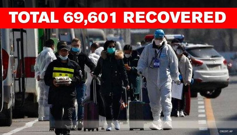 China releases 922 recovered COVID-19 patients from hospitals