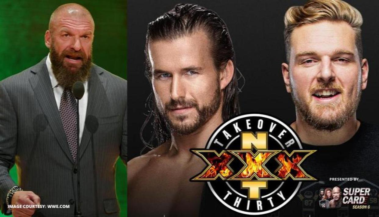 Pat McAfee accepts Triple H's challenge to face Adam Cole at WWE NXT TakeOver XXX - Republic World