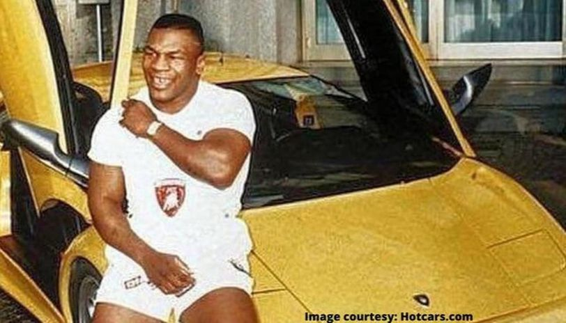 mike tyson car collection