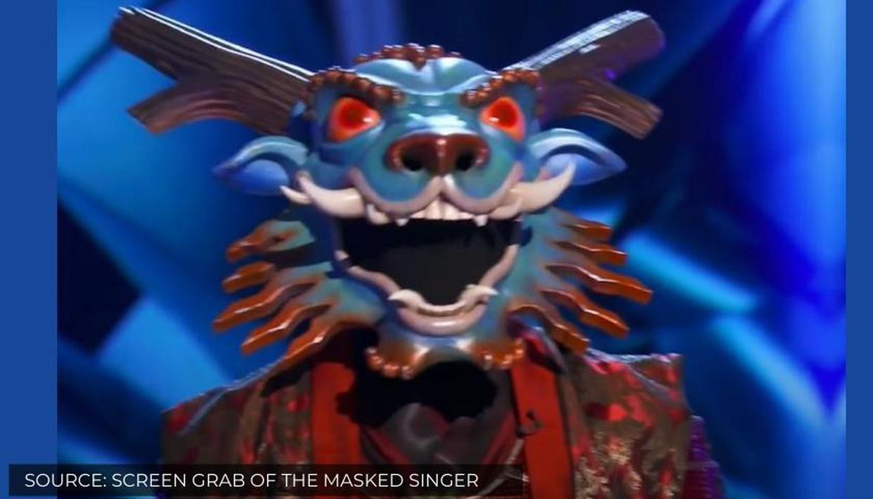 Who Is Dragon On The Masked Singer Find Details About The Recently Evicted Singer