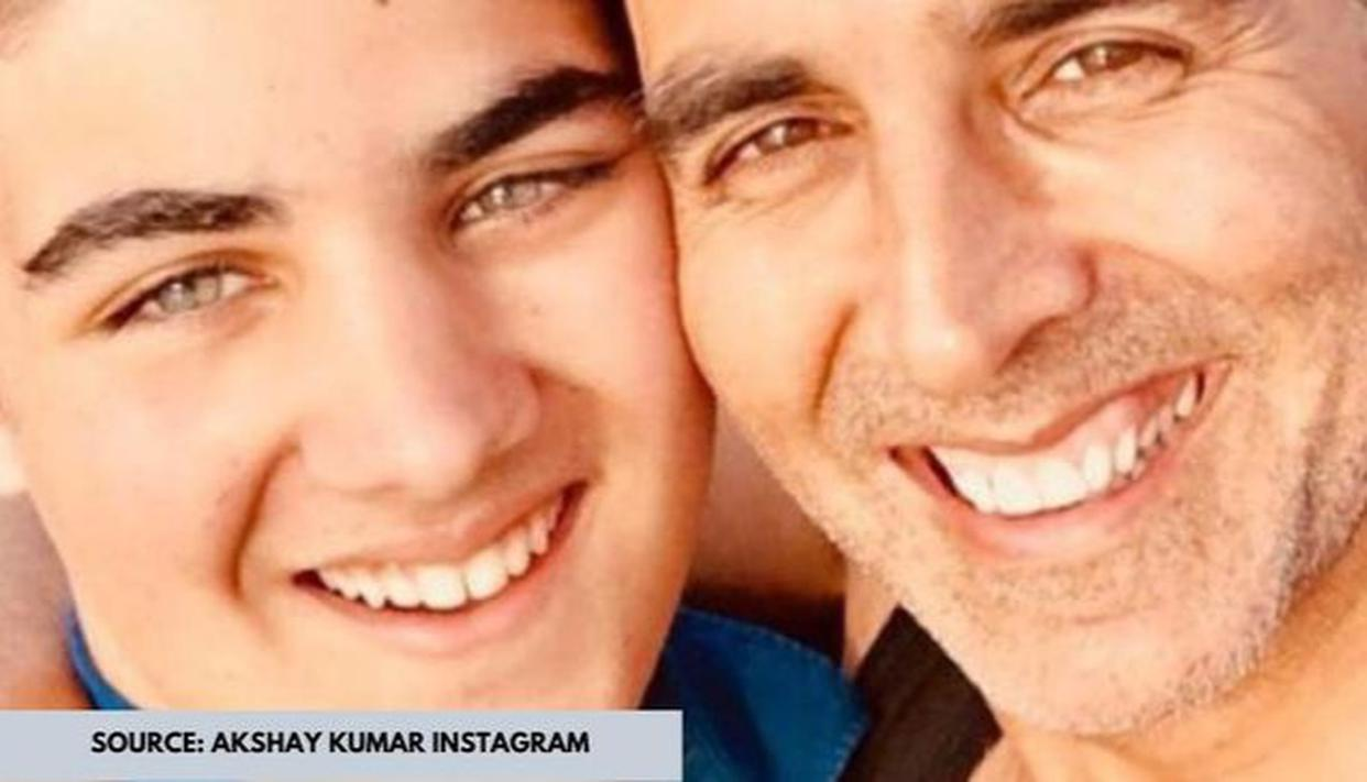 Unseen Pic of the Day: PM Narendra Modi is at his goofy best with Akshay Kumar's son Arav - Republic World