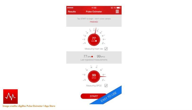 What is Pulse Oximeter app