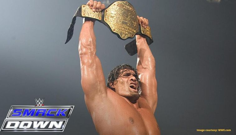 When The Great Khali Defeated 20 Men To Become The 1st Indian Wwe Champion Watch Video
