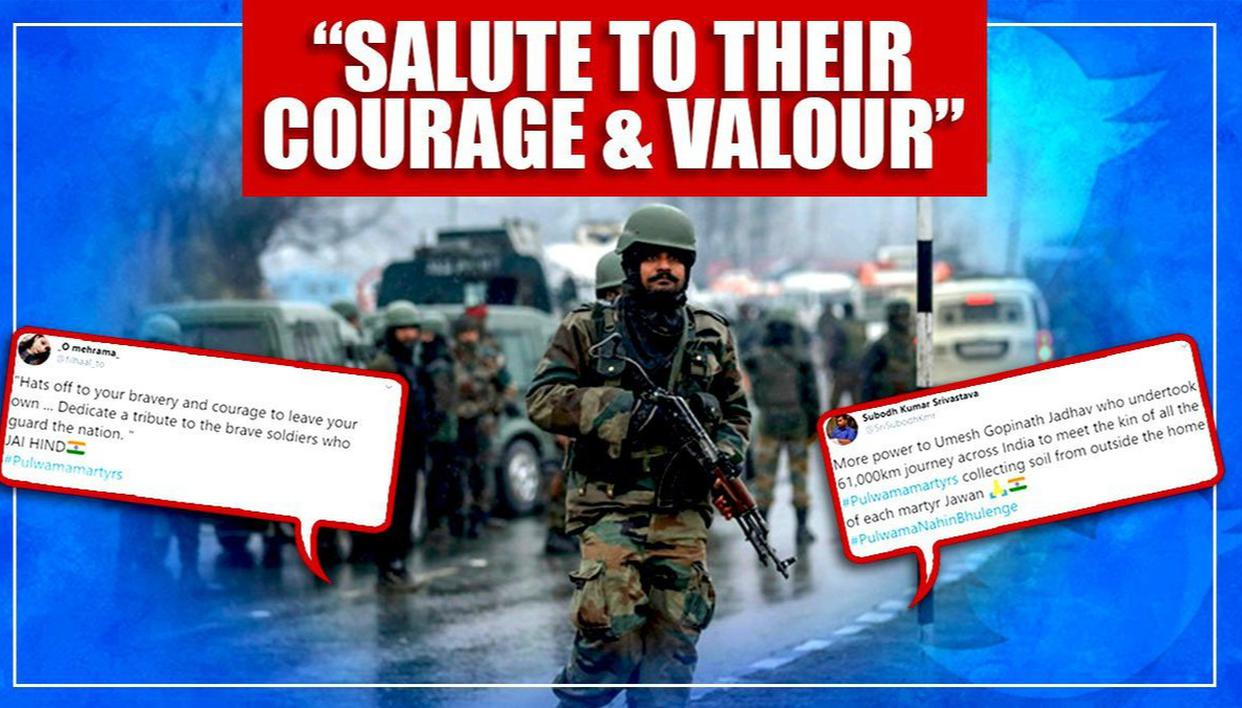 'Hats Off': Netizens take to Twitter to honour Pulwama attack martyrs' sacrifices - Republic World