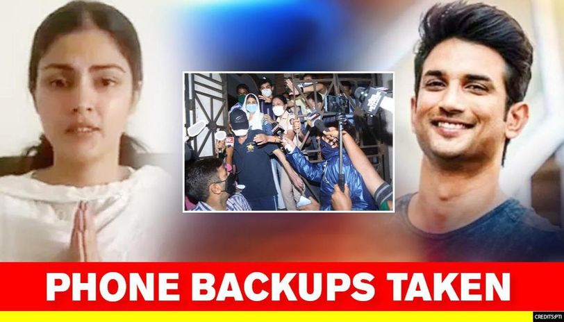 Rhea Chakraborty And Father S Phone Backups Taken By Ed Actor Summoned Once Again Republic World