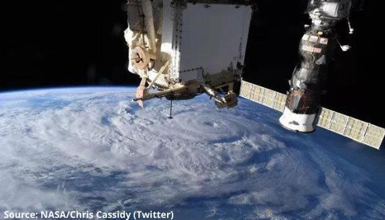 NASA Astronaut snaps breathtaking pictures of Hurricane Genevieve from ISS, see here