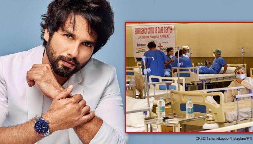 Shahid Kapoor hails Govt for converting Radha Soami Satsang Centre into quarantine center