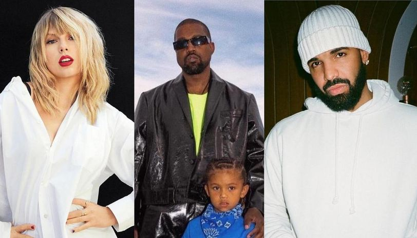 Kanye West Asks For Help From Old Rivals Drake Taylor Swift To Change Music Contracts