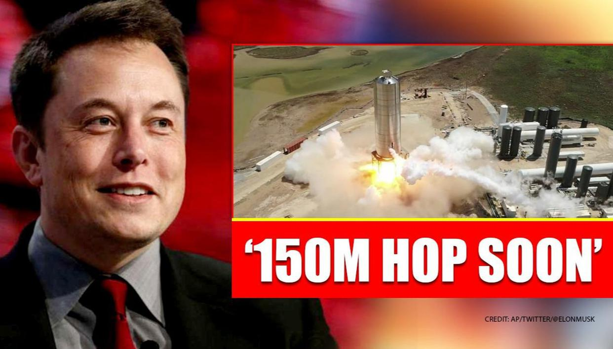 SpaceX fires up Starship SN5 rocket prototype, Elon Musk says it will 'hop soon'
