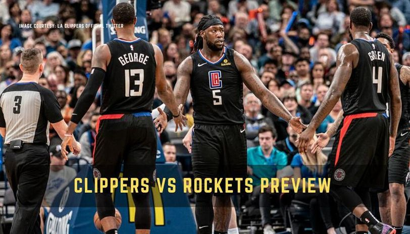 Clippers vs Rockets live streaming