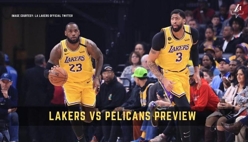 Lakers vs Pelicans live streaming
