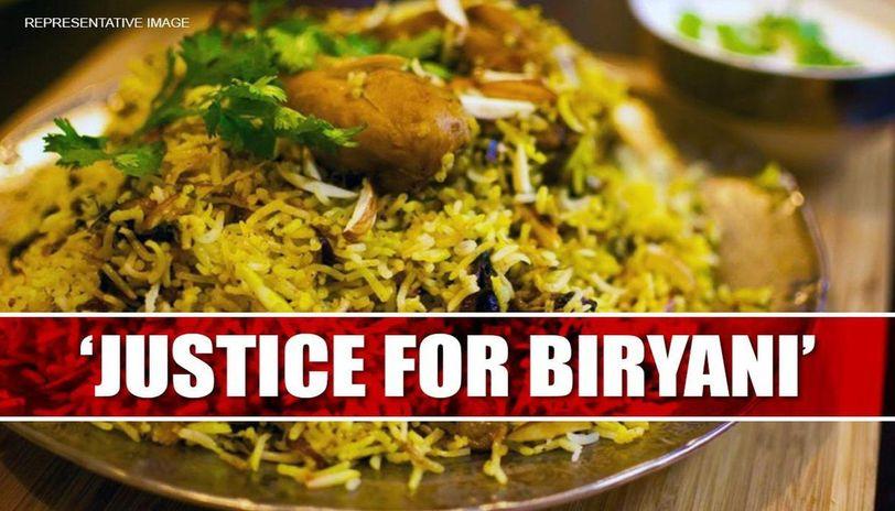 Biryani petition