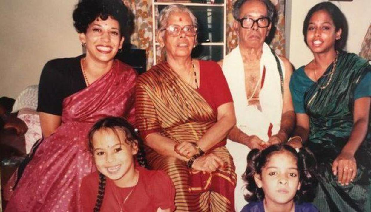 Who Who In Kamala Harris Diverse Indian Jamaican American Family Read Details