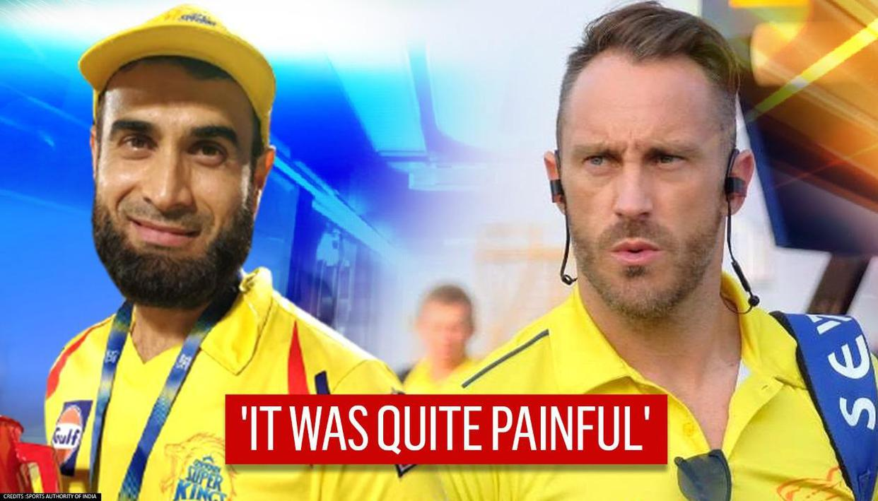 IPL 2020: Imran Tahir terms Faf du Plessis carrying drinks for Chennai as 'quite painful' - Republic World
