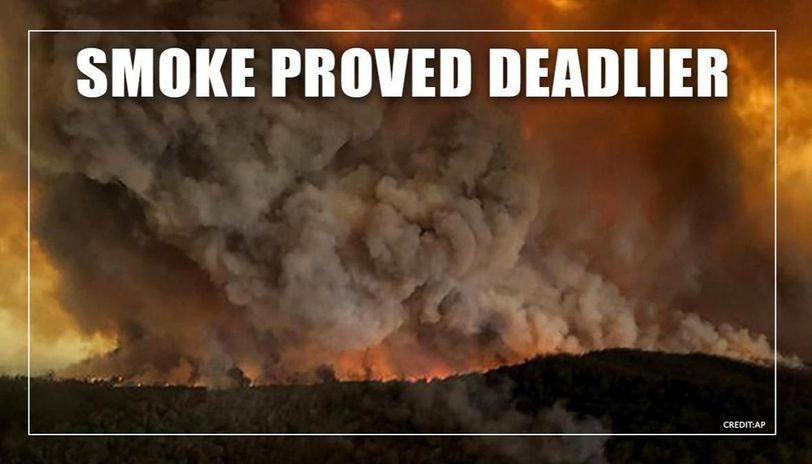 Smoke from Australian bushfires killed more