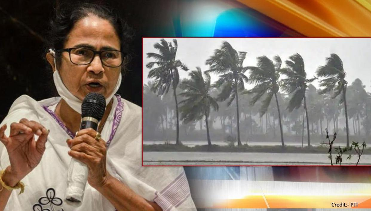 CM Mamata Banerjee directs officials to prepare for Cyclone Yaas after  warning
