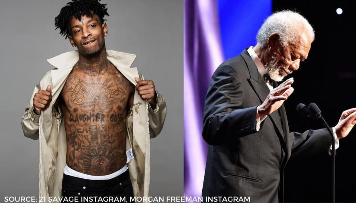 21 savage s savage mode 2 album video drops with morgan freeman s chilling voiceover 21 savage s savage mode 2 album video