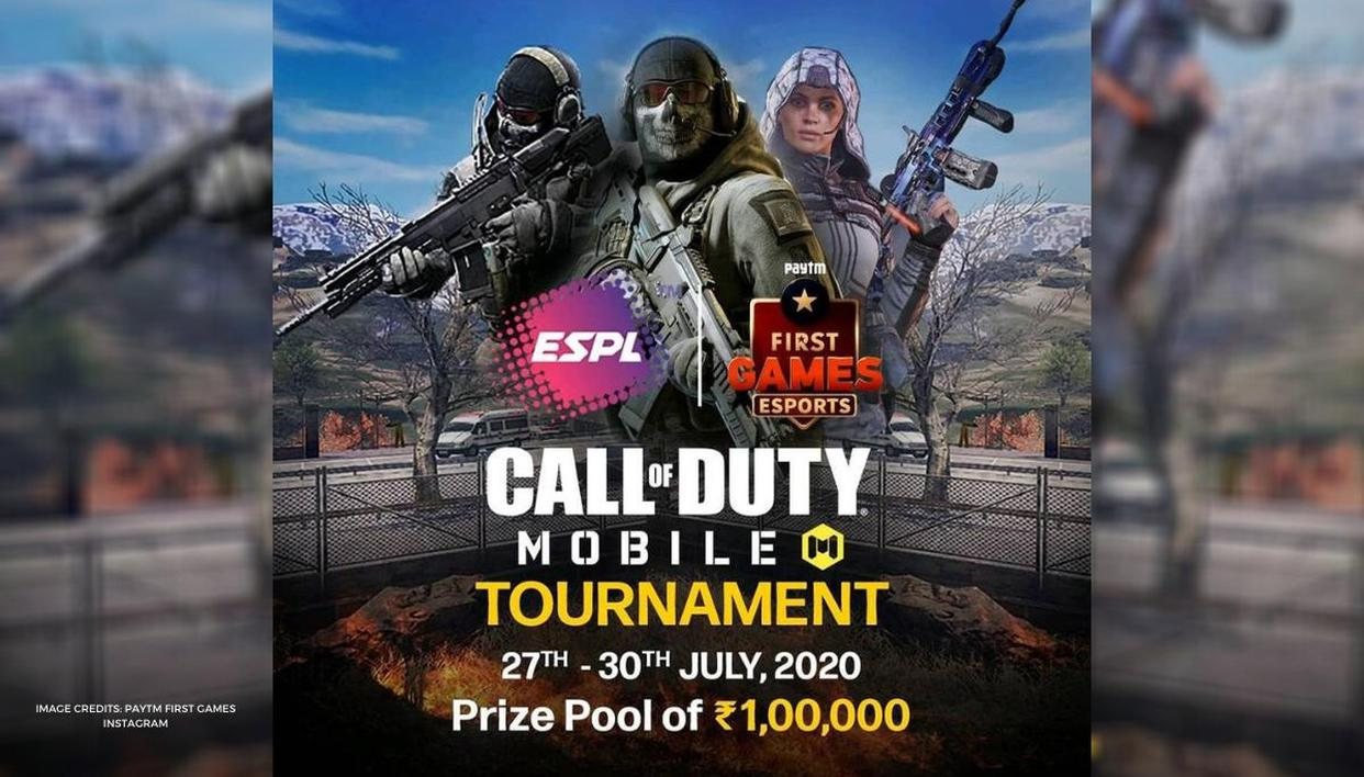 Cod Mobile Schedule And Format Of Paytm First Games Call Of Duty Tournament Republic World