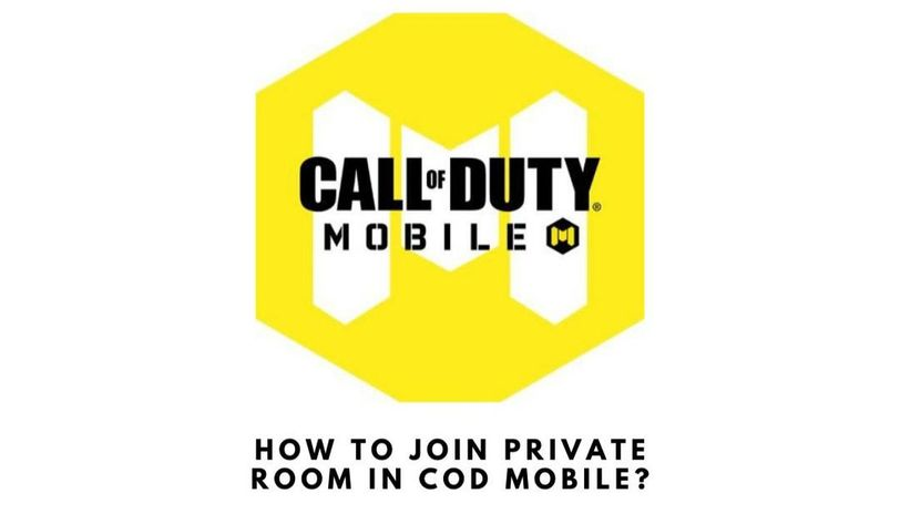 how to join room in cod mobile