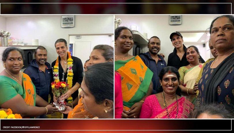 Akshay Kumar to donate ₹1.5 crore for transgender homes, Raghava Lawrence calls him 'God'