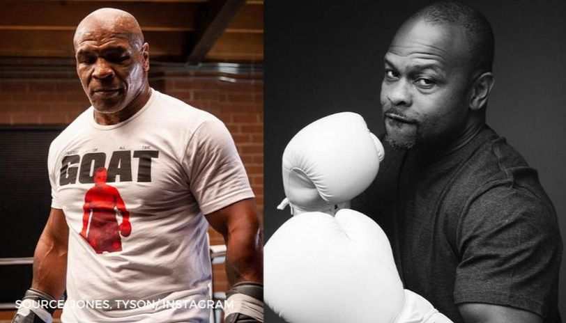 roy jones jr hits back at mike tyson with this threatening training video watch roy jones jr hits back at mike tyson