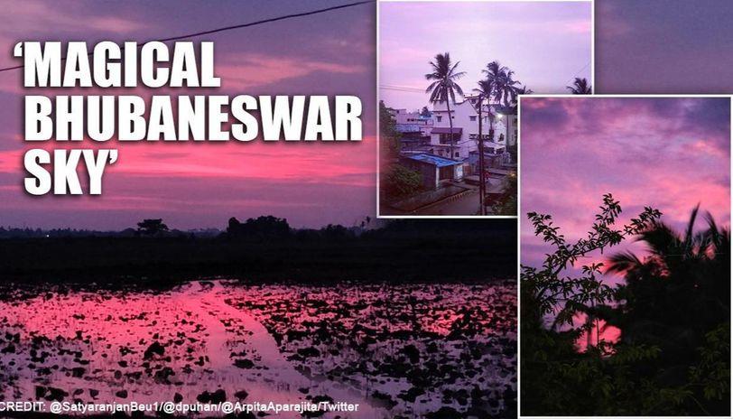 Cyclone Amphan: Skies painted in vibrant hues as storm wreaks havoc in Bhubaneswar
