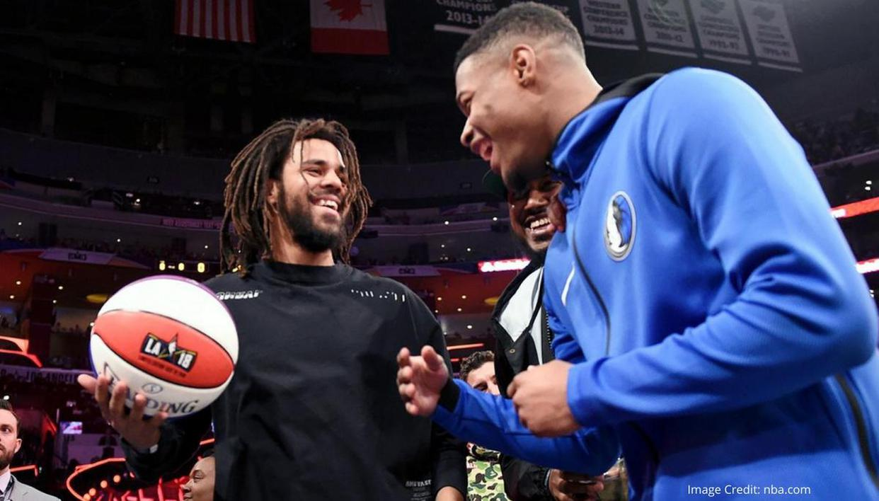Did J Cole play college basketball? American rapper's NBA connection lands Pistons trial - Republic World