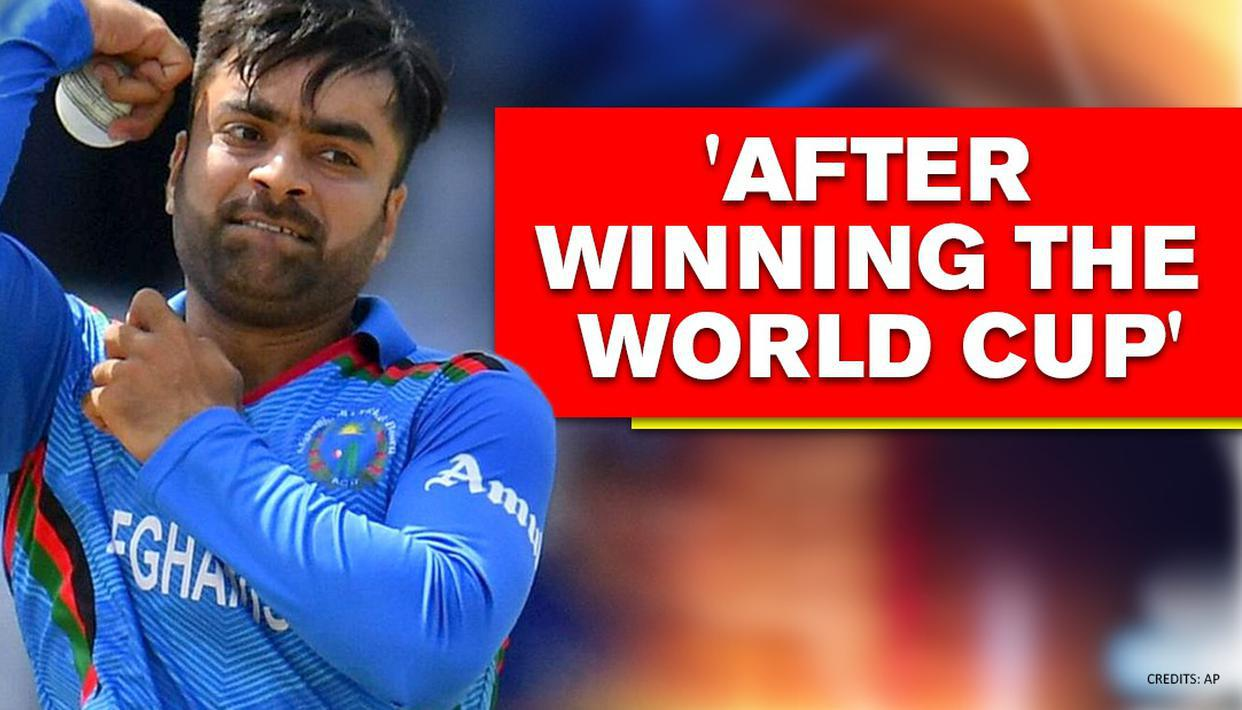 Rashid Khan says he will get hitched only when Afghanistan wins the Cricket World Cup - Republic World