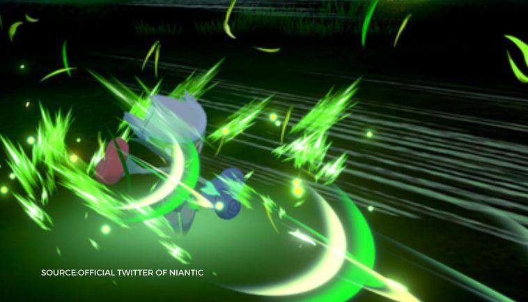 Pokemon Go Leaf Strom