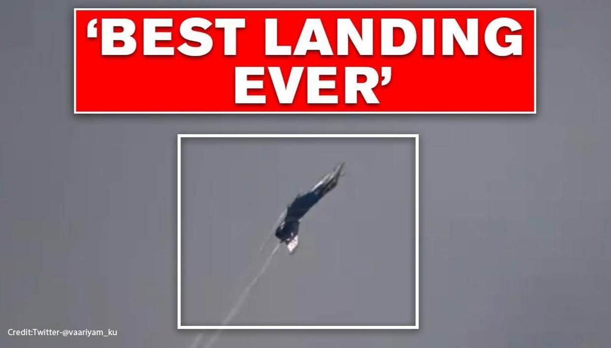 'Best landing ever seen': Rafale's vertical somersault & silky flying thrills netizens - Republic World