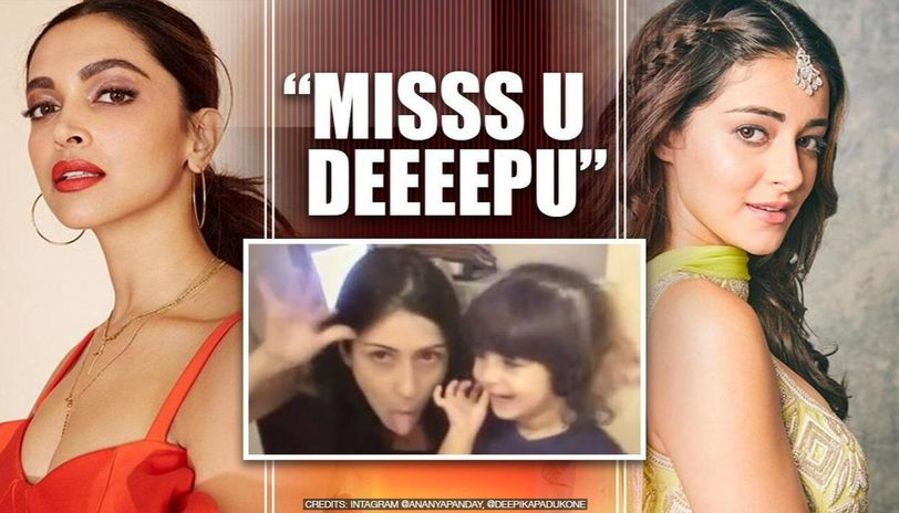Deepika Padukone drops cute reply on co-star Ananya's video, latter says 'miss you Deepu'