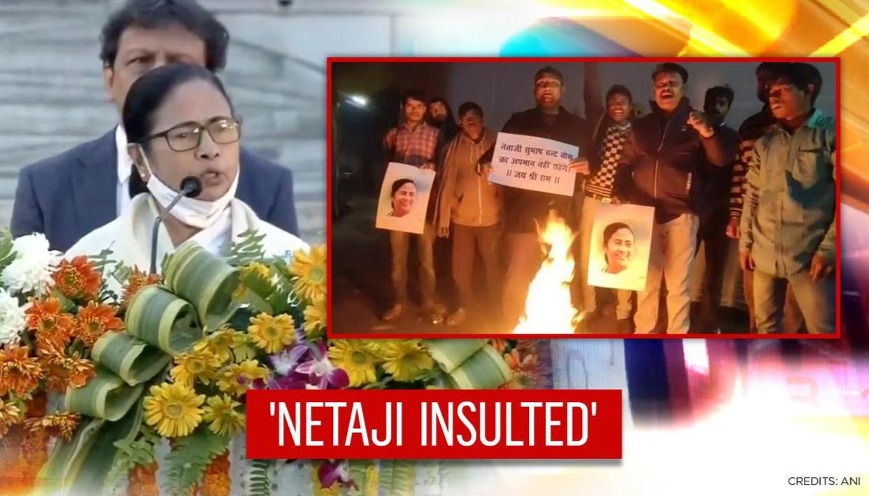 Netaji Bose 'insulted' by Mamata's walkout from Centre's event, says LJP; demands apology
