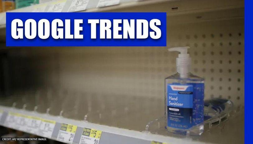 Google searches for 'homemade hand sanitizer' skyrocket