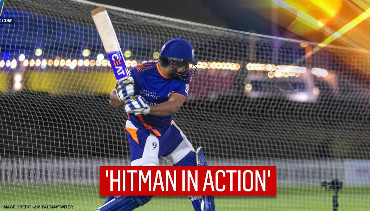 IPL 2020: Title-holders Mumbai thrilled to see skipper Rohit Sharma back in the nets