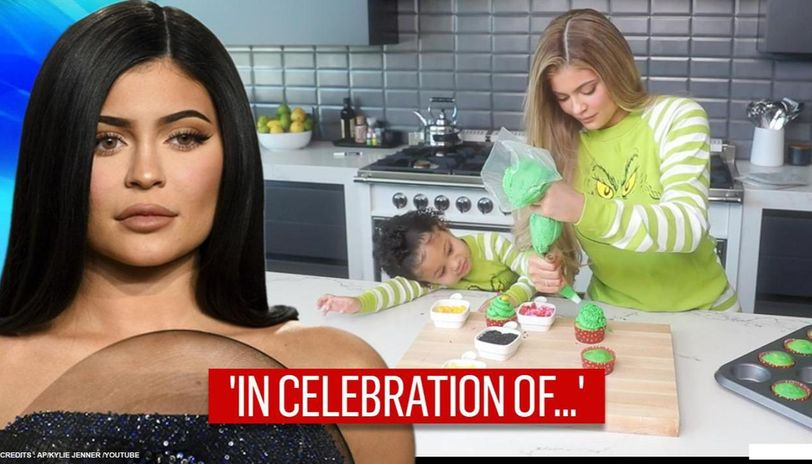 Kylie Jenner bakes cupcakes with daughter Stormi, Netizens shower love on the 'little one'