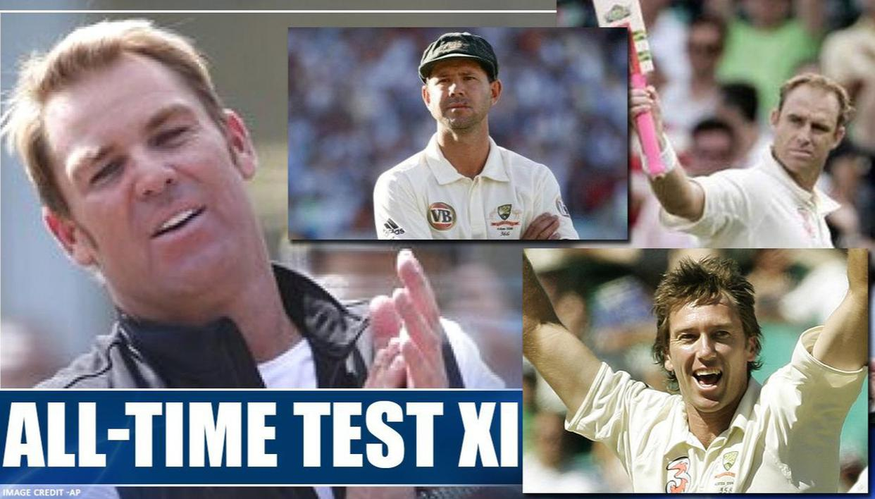 Shane Warne's best Australian Test XI of players he played with