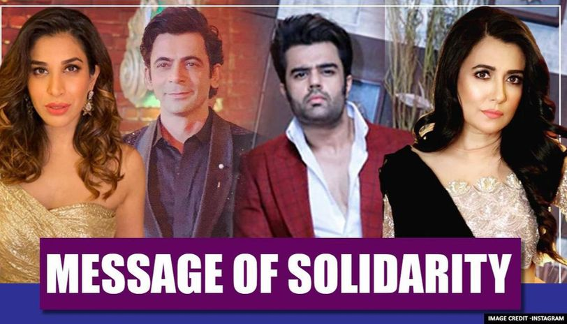 Bollywood celebrities recite heart-wrenching message of solidarity on Twitter. Watch