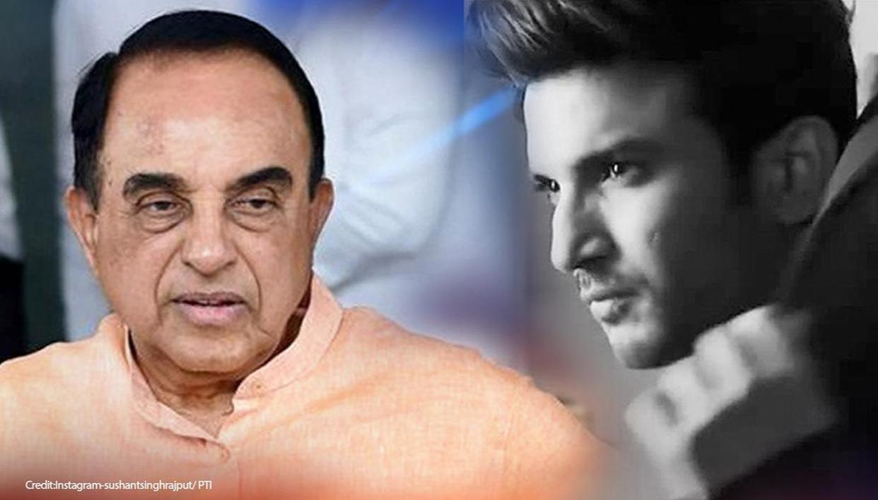 Sushant Singh Rajput case: Subramanian Swamy appoints advocate to ...