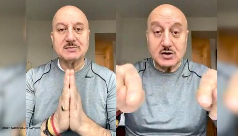 Coronavirus: Anupam Kher makes a 'plea' to his followers with a video message, watch