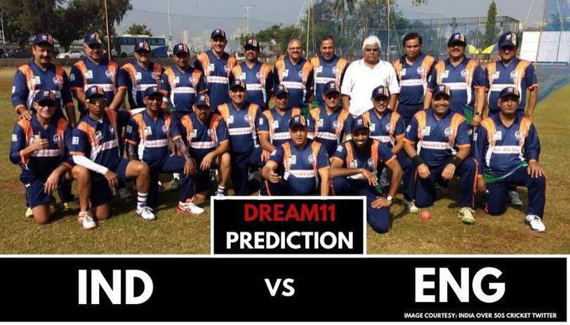 IND-50 vs ENG-50 dream11 prediction
