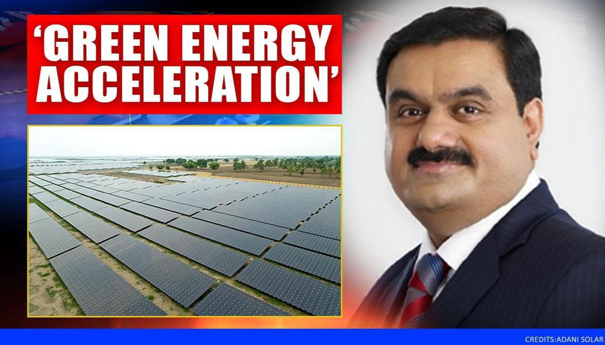 'The Green Energy Acceleration in the Post Covid World': Gautam Adani pens 40-year outlook - Republic World