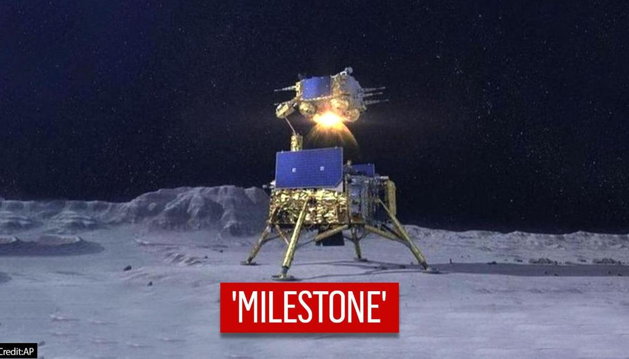 Chinas Yutu 2 rover discovers unusual shard-shaped rock on unexplored far side of moon - Republic TV