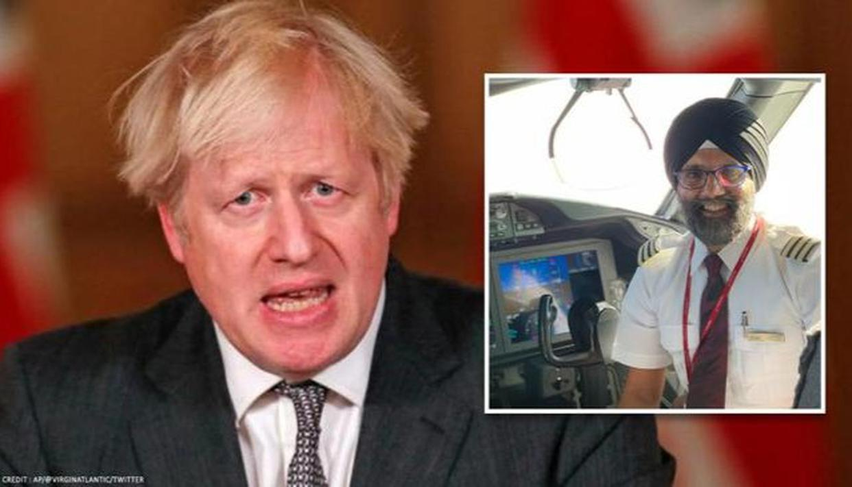 UK PM honours pilot who flew 200 O2 concentrators to India with 'Points of Light' award